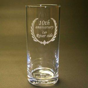 グラス 名入れ 彫刻加工
