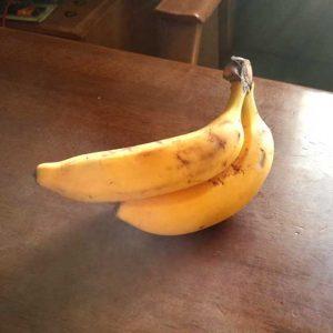 ブラスト工房 バナナ ガラス 名入れ