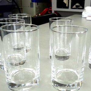 ブラスト工房 ガラス彫刻 名入れ