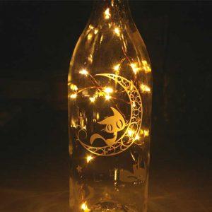 空きビン LEDランプ