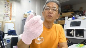 マイクロファイバー手袋 ブラスト工房