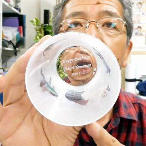 ネコグラス ラスターガラス ブラスト工房
