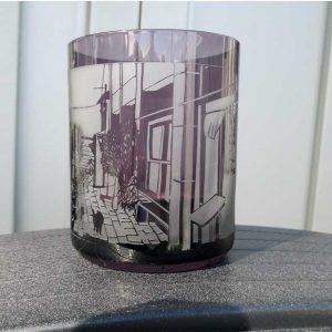 切り絵 ガラス彫刻 ブラスト工房
