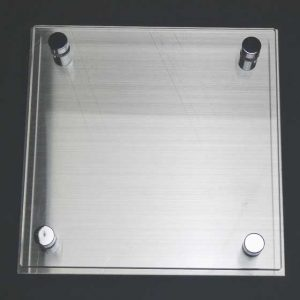 オーダー表札01 ブラスト工房