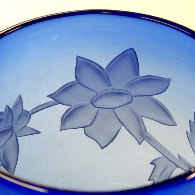 ガラス彫刻 レッスン2
