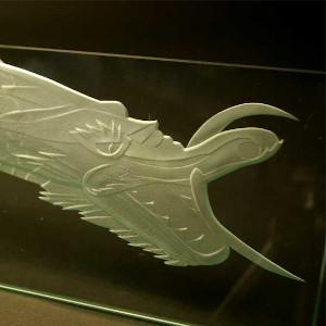 ガラス彫刻 ブラスト工房