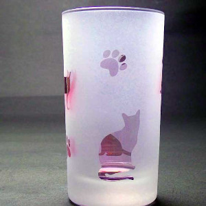 ネコグラス ラスターガラス