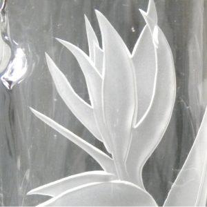 クリアーガラスコースレッスン4 サンドブラストガラス彫刻教室