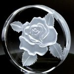 ガラス彫刻 深彫り レッスン6