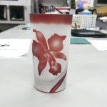 サンドブラストガラス彫刻 レッスン4.1
