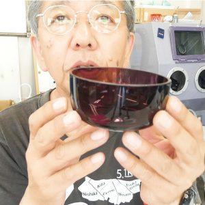 サンドブラストガラス彫刻講座 レッスン6