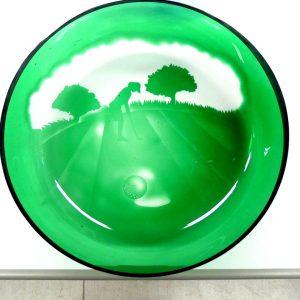 サンドブラストガラス彫刻講座