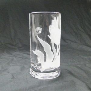 サンドブラスト ガラス深彫りレッスン7