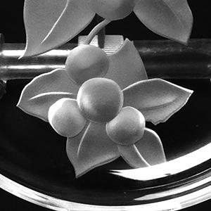 サンドブラスト ガラス彫刻