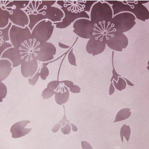 桜グラス 蕨硝子