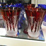 被せガラス酒杯 ブラスト工房 デザインフェスタ